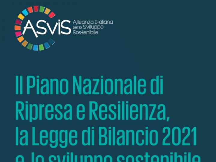 """Presentazione del rapporto Asvis """"Il Piano Nazionale di Ripresa e Resilienza, la Legge di Bilancio 2021 e lo sviluppo sostenibile"""""""